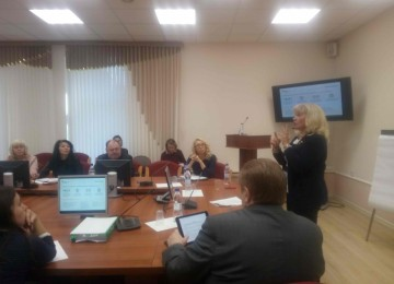 The cooperation workshop in Arkhangelsk